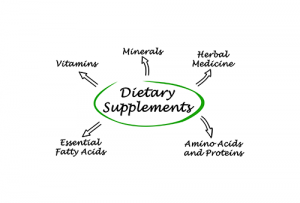 Nutrition supplements for treating addiction